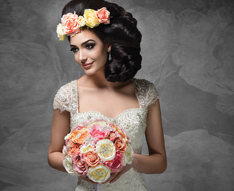 Flowers, Bridal Bouquets, Buttonholes, Corsages, Floral Hair Accessories, Centrepieces, Floral Décor Hire