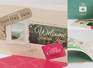 Wedding cards, Invites, Menus