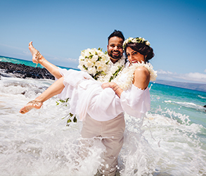 Wedding, Bridal, Big day, Hawaii, Beach,