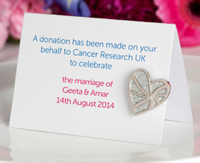 Wedding Favour, Gift, Cancer Research