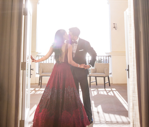 Wedding, Bride, Groom, California, Destination, Sabyasachi, Indian