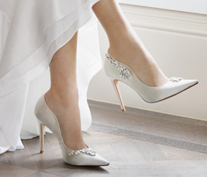 Dune London, Shoes, Bridal, Bride, Bridesmaid, Registry, Embellishments, Ivory