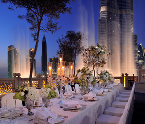 Emaar, Dubai, Address Montgomerie, Catering