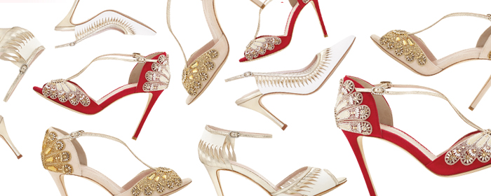Emmy London shoes for every type of wedding look