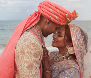 Kaushal Beauty, Real Wedding, Bride, Destination Wedding, Mexico, Cancun