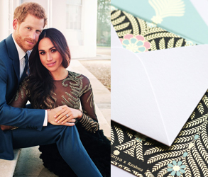 Ananya Cards, Raishma, Stationery, Thank You Cards, Wedding, Notes, Meghan Markle, Ralph & Russo