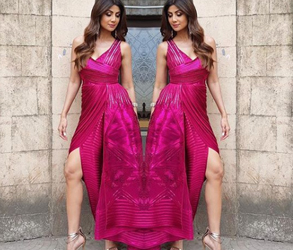 Couture, Fashion, Engagement, Bridal, Shilpa Shetty, Amit Aggarwal, India, Style