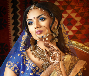 Bridal, Beauty, Makeup, Akshee Shah, London artist, Wedding