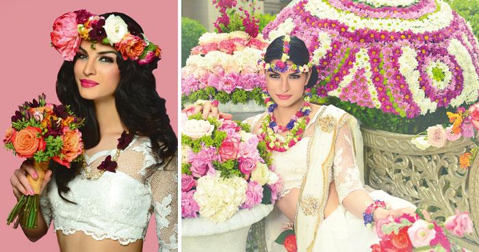Flower Jewellery For Mehndi Uk : Fresh flower jewellery for mehndi in uk thin