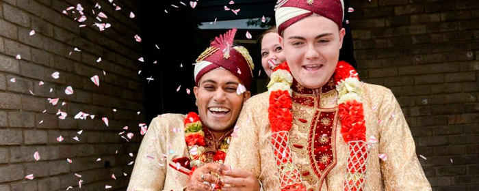 The UK's First Gay Muslim wedding