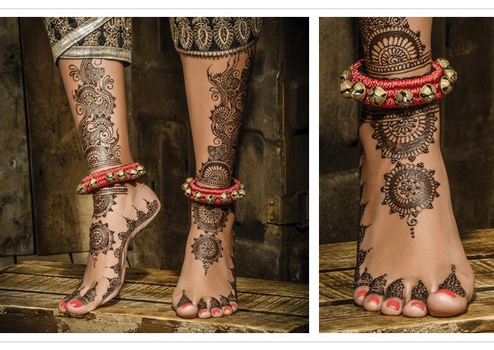 Mehndi Ankle Instagram : Mehndi maestros :: khush mag