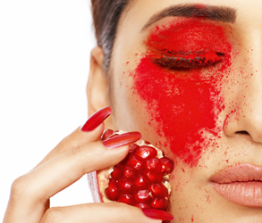 Beauty, Red, Lips, Nails, Traditional, Makeup, Bridal, Wedding