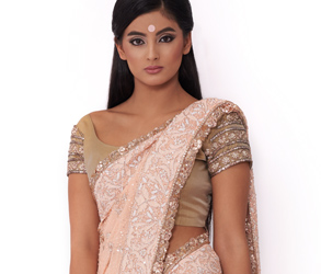 Fashion, Saree, Sari, Indian, Traditional, Dhoti, Gujarati, India, Style