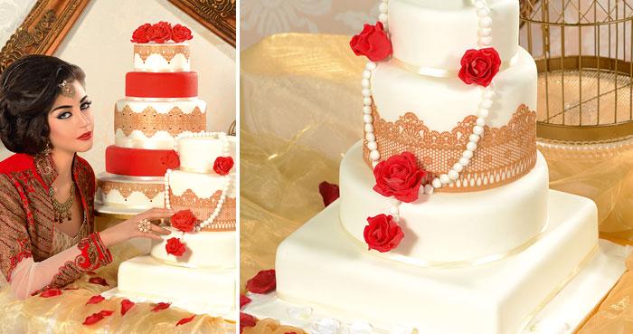 Mehndi Cushion Cake : Cake heaven khush mag