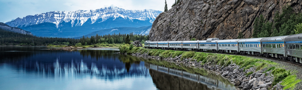 Have an unforgettable Honeymoon by train