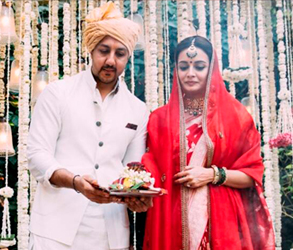 Real Wedding, Celebrity Wedding, Dia Mirza, Bollywood