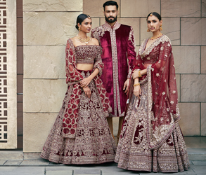 Fashion, Bridal Fashion, Lehenga, Frontier Raas