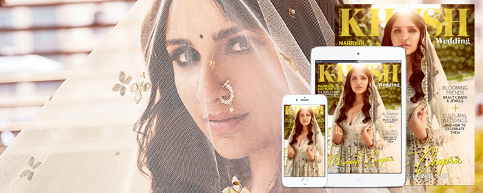 The latest issue of Khush Wedding