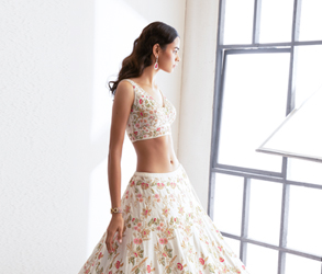 Fashion, Bridal Fashion, Lehenga, Nikaza Asian Couture