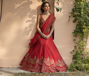 Fashion, Bridal Fashion, Lehenga, Estie Couture