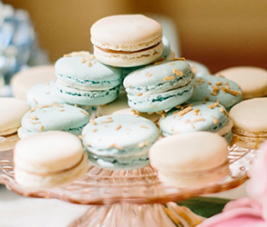 Dessert, Treats, Macaroons, Wedding Treats
